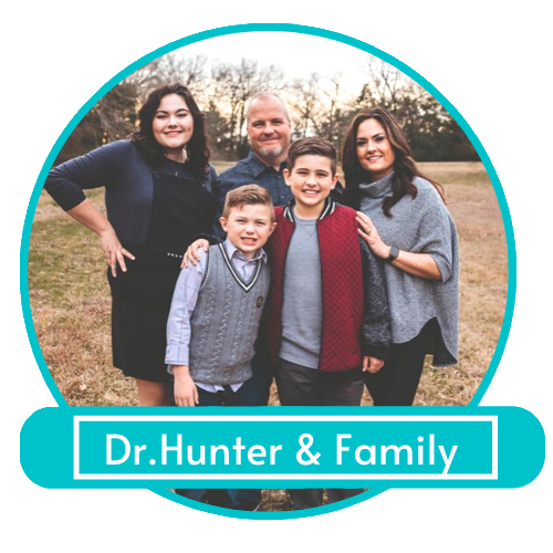 Dr. Hunter and Family