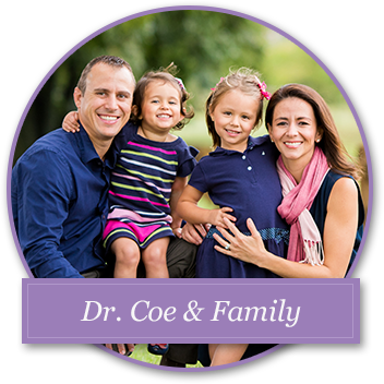 Dr. Coe and Family